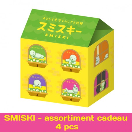 SMISKI - assortiment cadeau 4 pcs