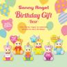 Happy Birthday Bear Sonny Angel boite de 12 pcs